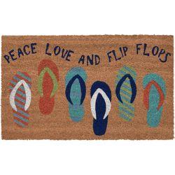 Liora Manne Natura Flip Flop Coir Doormat