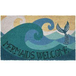 Liora Manne Natura Mermaids Welcome Coir Doormat