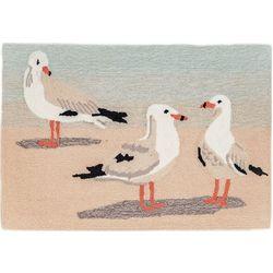 Liora Manne Frontporch Gulls Accent Rug