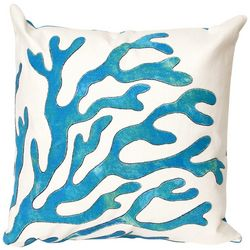 Liora Manne Visions I Coral Square Pillow