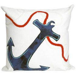 Liora Manne Visions I Anchor Square Pillow