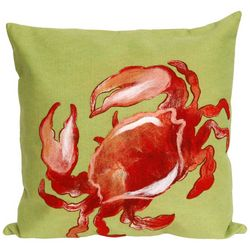 Liora Manne Visions I Crab Square Pillow