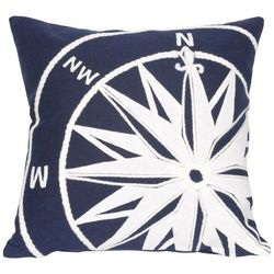 Liora Manne Visions II Compass Square Pillow