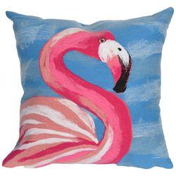 Liora Manne Visions III Flamingo Ocean Square Pillow