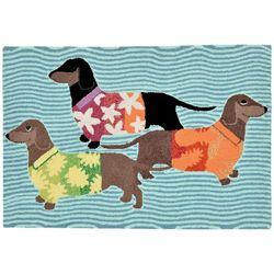 Liora Manne Frontporch Tropical Hounds Accent Rug