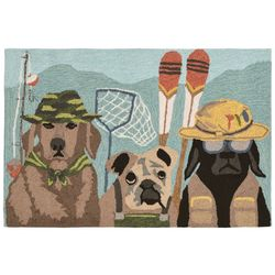 Liora Manne Frontporch Fishing Patrol Accent Rug