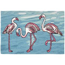 Liora Manne Frontporch Flamingo Accent Rug