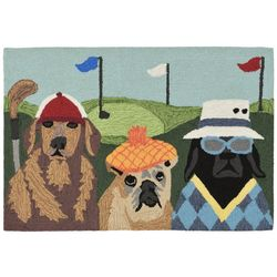 Liora Manne Frontporch Putts & Mutts Accent Rug