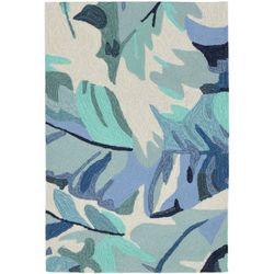 Liora Manne Capri Palm Leaf Accent Rug