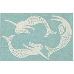 Liora Manne Capri Mermaids Accent Rug