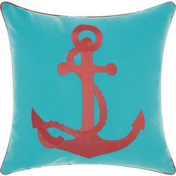 Mina Victory Anchor Outdoor Throw Pillow