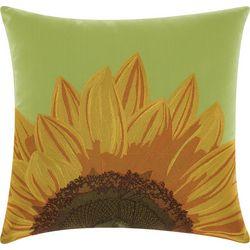 Mina Victory Sunflower Outdoor Throw Pillow
