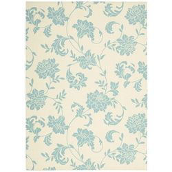 Nourison Home & Garden RS014 Ivory Area Rug