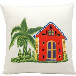 Mina Victory Caribbean Home Outdoor Throw Pillow