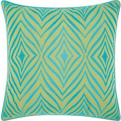 Mina Victory Wild Chevron Outdoor Throw Pillow