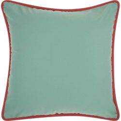 Mina Victory Solid Corded Outdoor Throw Pillow