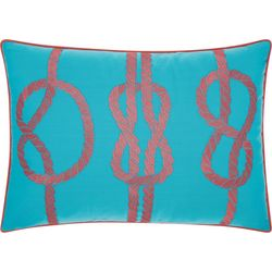 Mina Victory Three Knots Outdoor Throw Pillow