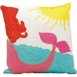 Mina Victory Mermaid Outdoor Throw Pillow