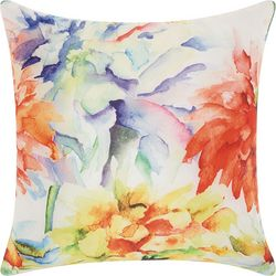 Mina Victory Wildflower Outdoor Throw Pillow