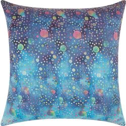 Mina Victory Watercolor Dots Outdoor Pillow