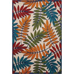 Nourison Aloha ALH18 Multi Indoor/Outdoor Area Rug