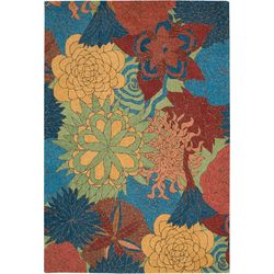 Nourison South Beach SOU07 Floral Area Rug