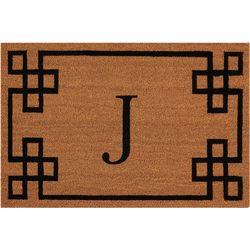 Nourison Elegant Entry J Coir Mat