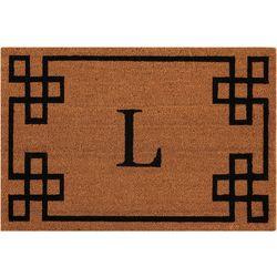 Nourison Elegant Entry L Coir Mat