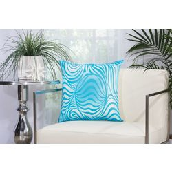 Mina Victory Zebra Outdoor Throw Pillow