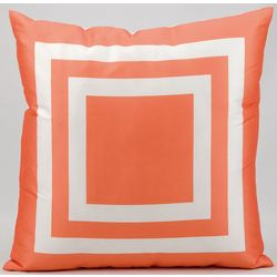 Mina Victory Squares Outdoor Throw Pillow