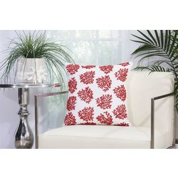 Mina Victory Beaded Corals Outdoor Throw Pillow