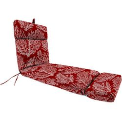 Jordan Manufacturing Coral Chaise Lounge Cushion