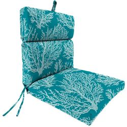 Jordan Manufacturing Sea Coral Turquoise Chair Cushion