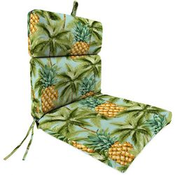 Jordan Manufacturing Luau Palmetto Dinalounge Chair Cushion