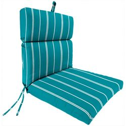 Jordan Manufacturing Pursuit Stripe Seaglass Chair Cushion