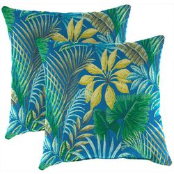 Jordan Manufacturing 2-pk. Noreya Pacific Outdoor Pillow Set