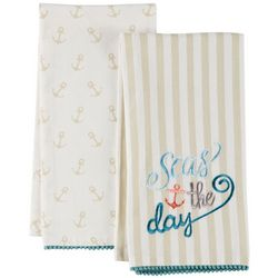 Coastal Home 2-pc. Seas The Day Kitchen Towel Set