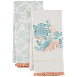 Coastal Home 2-pc. In The Bay Kitchen Towel Set