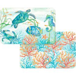Counter Art Sealife Serenade Reversible Placemat