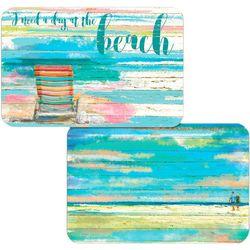 Counter Art Beach Days Reversible Placemat
