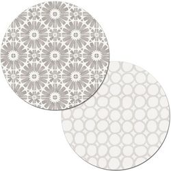 Counter Art Country Weekend Round Reversible Placemat