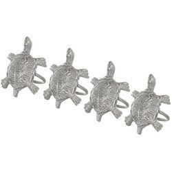 Lintex 4-pc. Turtle Napkin Ring Set