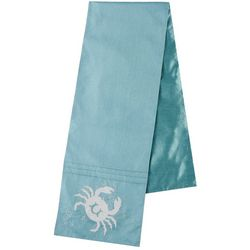 Lintex Embroidered Crab Table Runner