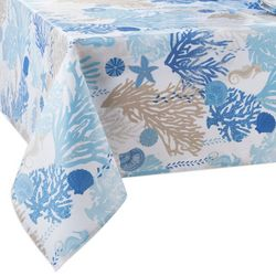 Table Trends  Under The Sea Indoor/Outdoor Tablecloth