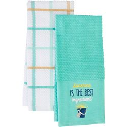 American Textile Co 2-pc. Sunshine Kitchen Towel Set