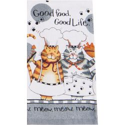 Kay Dee Designs Happy Cat Terry Towel