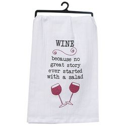 Kay Dee Designs Wine Story Flour Sack Towel