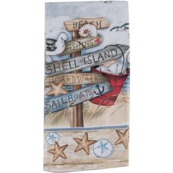 Kay Dee Designs Beach Signs Terry Kitchen Towel
