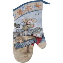 Kay Dee Designs Beach Sign Oven Mitt