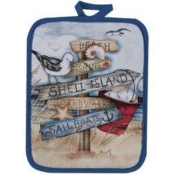Kay Dee Designs Beach Sign Pot Holder